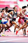 Sam Tanner and Nick Willis, 1500m. New Zealand Athletics, Tokyo Olympics, Tokyo, Japan, 3 August 2021. <br /> Photo: Alisha Lovrich/Athletics NZ/www.bwmedia.co.nz