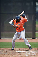 Houston Astros Daz Cameron (13) during a minor league Spring Training game against the Washington Nationals on March 28, 2017 at the FITTEAM Ballpark of the Palm Beaches in West Palm Beach, Florida.  (Mike Janes/Four Seam Images)