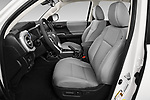 Front seat view of a 2020 Toyota Tacoma SR5 4 Door Pick Up front seat car photos