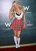HOLLYWOOD, LOS ANGELES, CA, USA - AUGUST 28: Lana Kinnear arrives at the Benchwarmer Back To School Celebration to Benefit Children of the Night held at Station Hollywood at the W Hotel Hollywood on August 28, 2014 in Hollywood, Los Angeles, California, United States. (Photo by Xavier Collin/Celebrity Monitor)