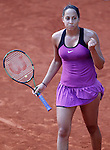 Madison Keys, USA, during Madrid Open Tennis 2016 match.May, 2, 2016.(ALTERPHOTOS/Acero)