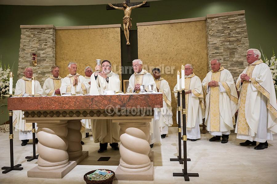 Solemn Mass of Dedication of the new St. Katharine Drexel Catholic Church, Martell, Calif...Most Reverend Jaime Soto, Bishop of Sacramento