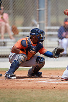 Houston Astros Brandon Benavente (79) during a Minor League Spring Training game against the St. Louis Cardinals on March 27, 2018 at the Roger Dean Stadium Complex in Jupiter, Florida.  (Mike Janes/Four Seam Images)