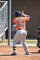Houston Astros third baseman Alex Gonzalez (60) during a minor league spring training game against the Detroit Tigers on March 21, 2014 at Osceola County Complex in Kissimmee, Florida.  (Mike Janes/Four Seam Images)