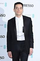 Rami Malek<br /> arriving for the 2019 BAFTA Film Awards Nominees Party at Kensington Palace, London<br /> <br /> ©Ash Knotek  D3477  09/02/2019