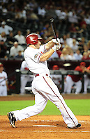 May 31, 2011; Phoenix, AZ, USA; Arizona Diamondbacks shortstop Stephen Drew against the Florida Marlins at Chase Field. Mandatory Credit: Mark J. Rebilas-