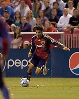 Real Salt Lake defender Tony Beltran (2). Real Salt Lake tied the Colorado Rockies, 1-1, at Rio Tinto Stadium on June 6, 2009.
