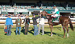 October 18, 2015: Kitten's Point and Edgar Prado win the Rood and Riddle Dowager Stakes, Grade 3 $125,000 at Keeneland for trainer Graham Motion and owner Augustin Stables. Samantha Bussanich/ESW/Cal Sport Media