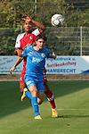 Morris Nag (Nr.8, FC Astoria Walldorf) im Kampf um den Ball  beim Spiel, FC Astoria Walldorf - SC Freiburg II.<br /> <br /> Foto © PIX-Sportfotos *** Foto ist honorarpflichtig! *** Auf Anfrage in hoeherer Qualitaet/Aufloesung. Belegexemplar erbeten. Veroeffentlichung ausschliesslich fuer journalistisch-publizistische Zwecke. For editorial use only. DFL regulations prohibit any use of photographs as image sequences and/or quasi-video.