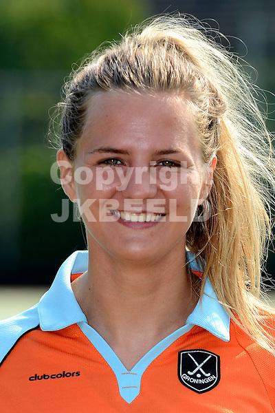 HAREN - Hockey, Selectie GHHC vrouwen, Hoofdklasse , 28-08-2016,  Laura van Weeren