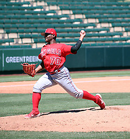 Jenrry Gonzalez - Los Angeles Angels 2019 extended spring training (Bill Mitchell)