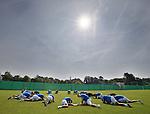 Rangers training in Marienfeld, Germany
