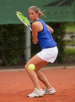 13-8-09, Den Bosch,Nationale Tennis Kampioenschappen, Kwartfinale, Quirine Lemoine