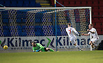 St Johnstone v Ross County… McDiarmid Park..     SPFL<br />Craig Curran scores county's third goal<br />Picture by Graeme Hart.<br />Copyright Perthshire Picture Agency<br />Tel: 01738 623350  Mobile: 07990 594431