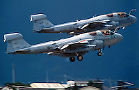 - Deny Flight NATO operation over former Yugoslavia for aerial space control above Bosnia-Herzegovina,  a couple of A 6 Prowler for electronic surveillance of the US Marines  take-off from the US air base of Aviano (Pordenone, Italy), an aircraft of this type was been involved in the incident to the Cermis cableway<br />