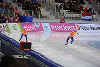 SPEEDSKATING: SOCHI: Adler Arena, 24-03-2013, Essent ISU World Championship Single Distances, Day 4, 500m Men, Jan Smeekens (NED), Ronald Mulder (NED), © Martin de Jong