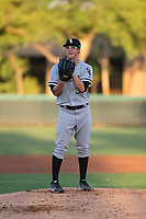 AZL White Sox starting pitcher Taylor Varnell (37) looks in for the sign during an Arizona League game against the AZL Dodgers at Camelback Ranch on July 7, 2018 in Glendale, Arizona. The AZL Dodgers defeated the AZL White Sox by a score of 10-5. (Zachary Lucy/Four Seam Images)