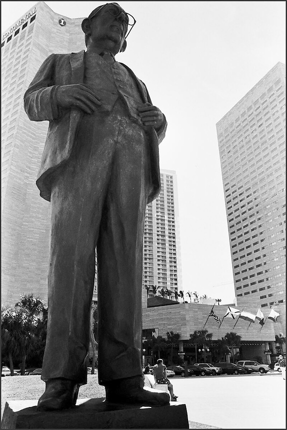 """From """"Miami in Black an d White"""" series<br /> Downtown Miami, FL"""