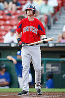 July 28, 2009:  Chris Duncan of the Pawtucket Red Sox during a game at Coca-Cola Field in Buffalo, NY.  Pawtucket is the International League Triple-A affiliate of the Boston Red Sox.  Photo By Mike Janes/Four Seam Images