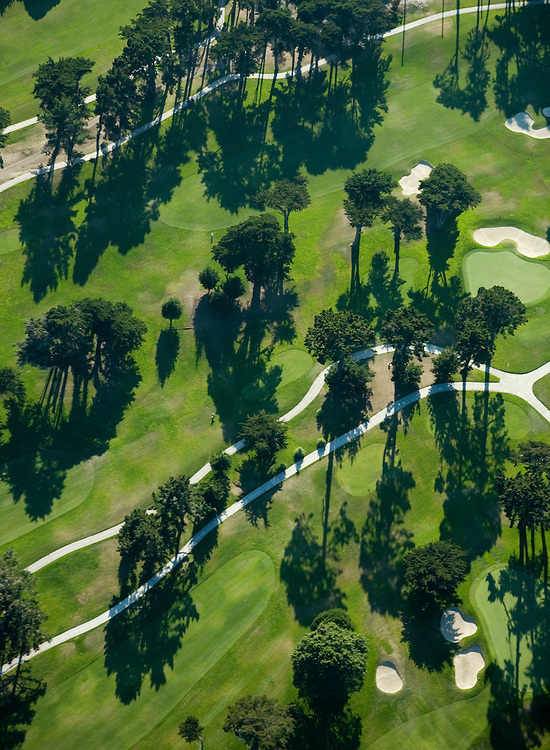 August 5, 2006; Daly City, CA, USA; Aerial view of the golf course at Lake Merced Country Club in Daly City, CA. Photo by: Phillip Carter