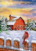 Marcello, CHRISTMAS LANDSCAPES, WEIHNACHTEN WINTERLANDSCHAFTEN, NAVIDAD PAISAJES DE INVIERNO, paintings+++++,ITMCXM1926A,#XL#