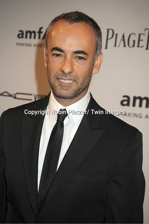 Francisco Costa attends the amfAR Inspiration Gala on June 7, 2012 at The New YOrk Public Library in New York City. The honorees were Fergie and Robert Duffy/ Marc Jacobhs International and the Scissor Sisters performed.