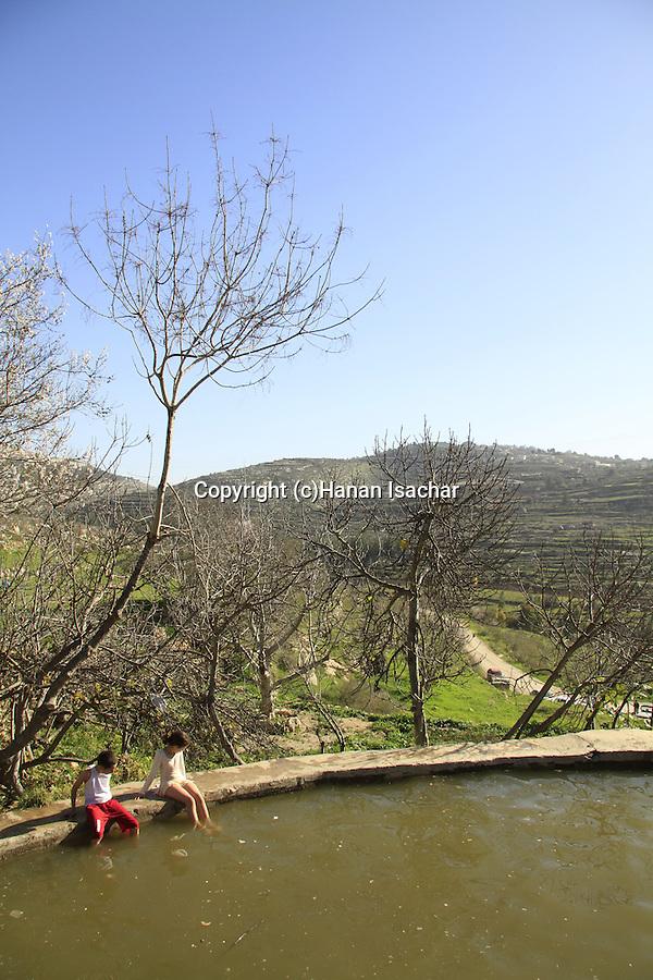 Israel, Ein Lavan in Jerusalem Mountains
