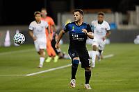 SAN JOSE, CA - SEPTEMBER 16: Vako #11 of the San Jose Earthquakes during a game between Portland Timbers and San Jose Earthquakes at Earthquakes Stadium on September 16, 2020 in San Jose, California.