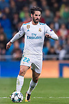 Isco Alarcon of Real Madrid in action during the UEFA Champions League 2017-18 match between Real Madrid and Tottenham Hotspur FC at Estadio Santiago Bernabeu on 17 October 2017 in Madrid, Spain. Photo by Diego Gonzalez / Power Sport Images