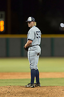 AZL Padres 1 relief pitcher Tom Colletti (53) gets ready to deliver a pitch during an Arizona League game against the AZL Cubs 1 at Sloan Park on July 5, 2018 in Mesa, Arizona. The AZL Cubs 1 defeated the AZL Padres 1 3-1. (Zachary Lucy/Four Seam Images)