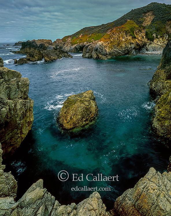 Granite Outcrop, Soberanes Point, Garrapata State Park, Big Sur, Monterey County, California