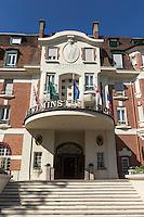 France, Pas-de-Calais (62), côte d'Opale, Le Touquet, façade de l'hôtel Westminster  //  France, Pas de Calais, Cote d'Opale, Le Touquet, front view of the Westminster hotel