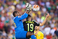 Philadelphia, PA - July 26, 2015:  Mexico defeated Jamaica 3-1 during the CONCACAF Gold Cup Final at Lincoln Financial Field