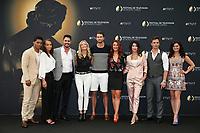 ROME FLYNN, REIGN EDWARDS, DON DIAMONT, KATHERINE KELLY LANG, PIERSON FODE, COURTNEY HOPE, JACQUELINE MAC INNES WOOD, DARIN BROOKS, HEATHER TOM - Photocall 'AMOUR GLOIRE ET BEAUTE' - 57ème Festival de la Television de Monte-Carlo. Monte-Carlo, Monaco, 18/06/2017. # 57EME FESTIVAL DE LA TELEVISION DE MONTE-CARLO - PHOTOCALL 'AMOUR GLOIRE ET BEAUTE'