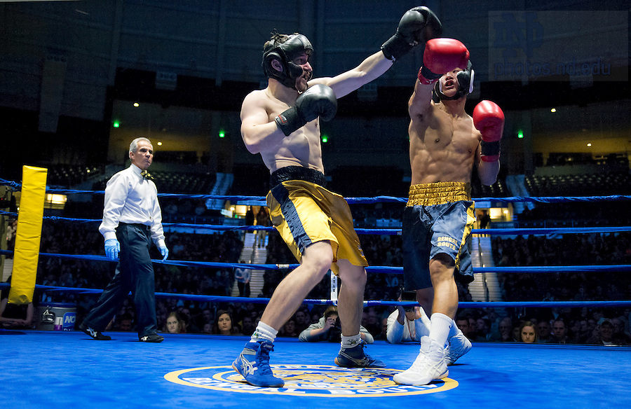 Mar 1, 2013; 83nd Annual Bengal Bouts. Photo by Barbara Johnston/University of Notre Dame