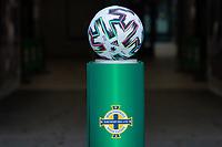 BELFAST, NORTHERN IRELAND - MARCH 28: Game Ball during a game between Northern Ireland and USMNT at Windsor Park on March 28, 2021 in Belfast, Northern Ireland.