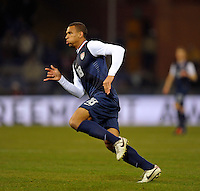 Terrence Boyd (USA), during the friendly match Italy against USA at the Stadium Luigi Ferraris at Genoa Italy on february the 29th, 2012.