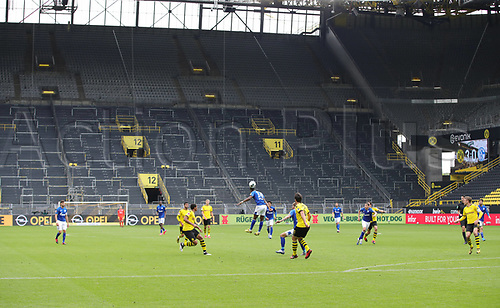 16th May 2020, Signal Iduna Park, Dortmund, Germany; Bundesliga football, Borussia Dortmund versus FC Schalke;   Ghost game  with no fans and empty seats