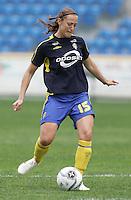MAR 15, 2006: Faro, Portugal:  Therese Sjogran