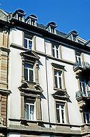 Frankfurt: Facade--West End. Photo '87.