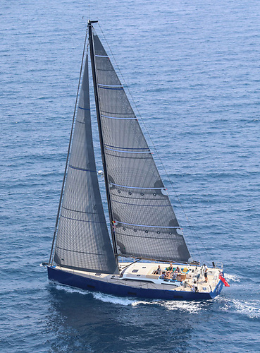 Quantum Fusion M8 main and headsail, showing both the Cruising and racing potential