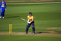 Sophie Devine bats during the Hallyburton Johnstone Shield women's cricket match between Wellington Blaze and Otago Sparks at the Basin Reserve in Wellington, New Zealand on Sunday, 14 March 2021. Photo: Dave Lintott / lintottphoto.co.nz