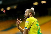 3rd October 2020; Carrow Road, Norwich, Norfolk, England, English Football League Championship Football, Norwich versus Derby; Teemu Pukki of Norwich City frustrated as the game slips away
