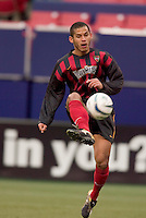 The MetroStars' Craig Ziadie. The New England Revolution played the NY/NJ MetroStars to a 1 to 1 tie at Giant's Stadium, East Rutherford, NJ, on April 25, 2004.