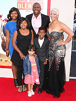HOLLYWOOD, LOS ANGELES, CA, USA - MAY 21: Terry Crews, Rebecca Crews at the Los Angeles Premiere Of Warner Bros. Pictures' 'Blended' held at the TCL Chinese Theatre on May 21, 2014 in Hollywood, Los Angeles, California, United States. (Photo by Xavier Collin/Celebrity Monitor)