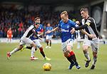 03.11.18 St Mirren v Rangers: Scott Arfield and Stephen McGinn