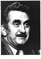 Jean-Luc Pepin lors de la Commission Pepin-Robarts sur l'unite canadienne, le 1er novembre 1977<br /> <br /> PHOTO :  Agence Quebec Presse