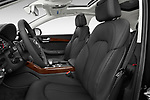 Front seat view of 2017 Audi A8 3.0T LWB quattro tiptronic 4 Door Sedan front seat car photos