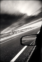 Desert Road and Rear View Mirror<br />