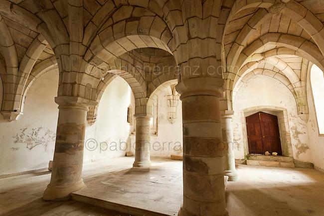 Sobrado. Monasterio de Santa María de Sobrado de los Monjes - Cocina